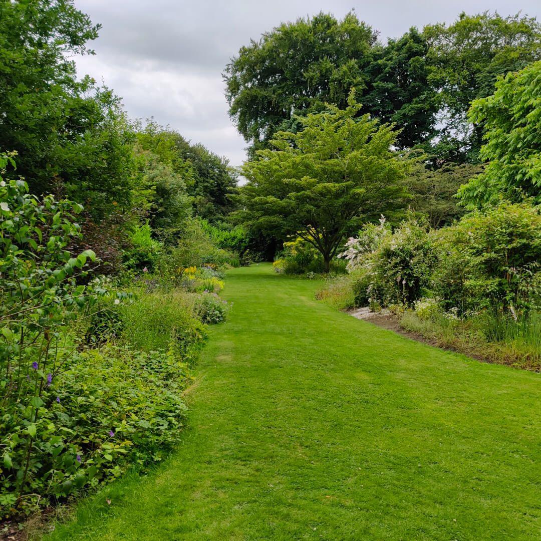 The Hollies Leeds flower garden