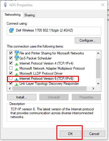 how to fix an IP address