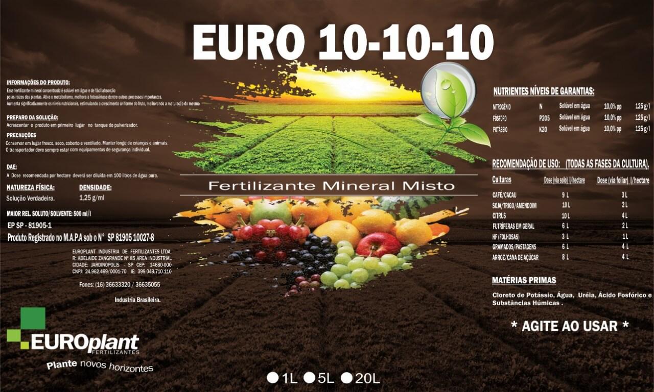Produto Euro 10-10-10