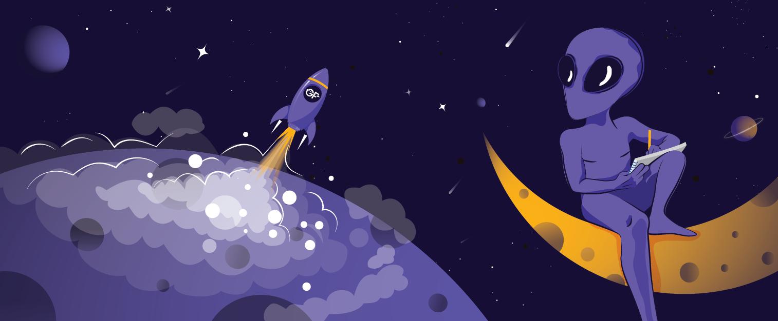 illustration of the blog post: Five Website Copywriting Tips For Tech Startups