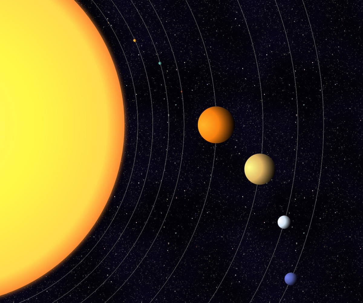 solar system three js - photo #22