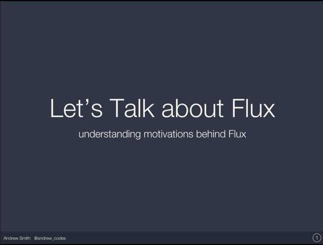 Presentation cover slide