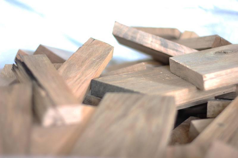 scarti di lavorazione legno rovere