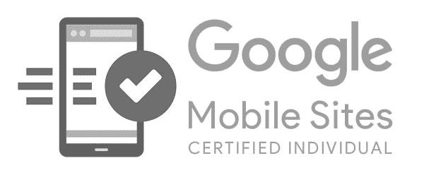 Google Mobile Sites Certified Developer