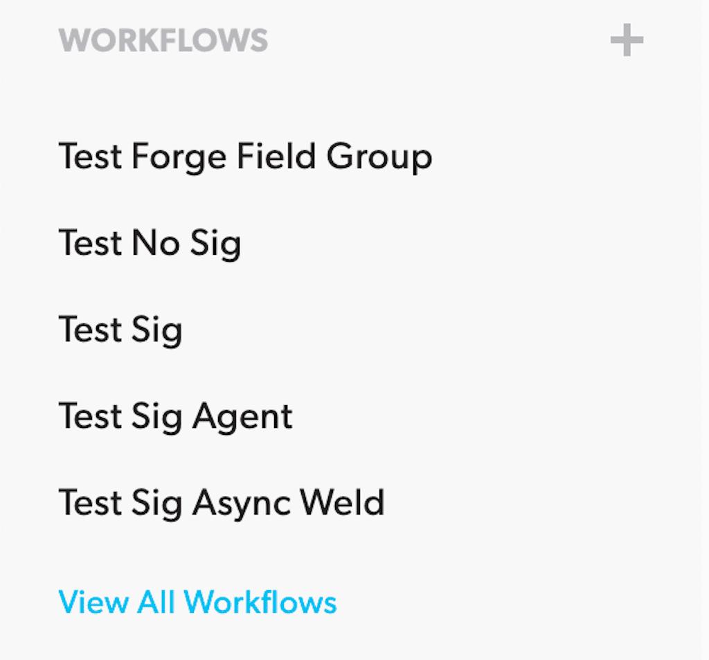 Workflows Column