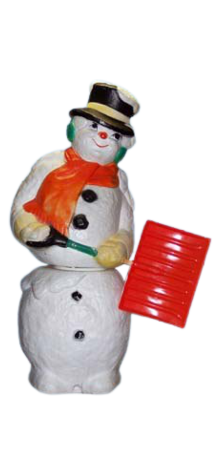 Animated Illuminated Swinging Snowman photo