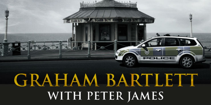 Death comes knocking: policing Roy Grace's Brighton by Peter James and Graham Bartlett