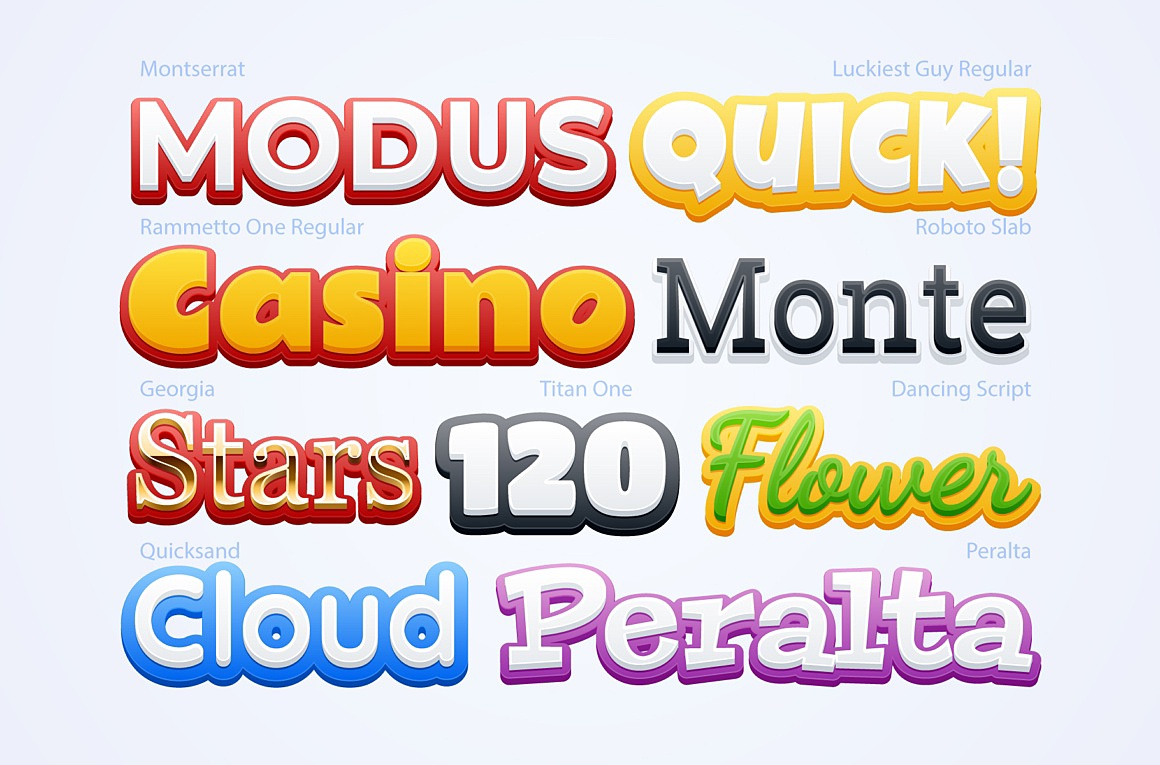 Funny Adobe Illustrator Styles images/funny_3_examples.jpg