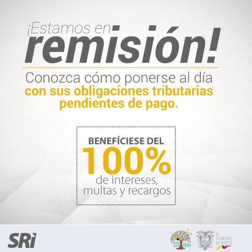Remisión Tributaria SRI