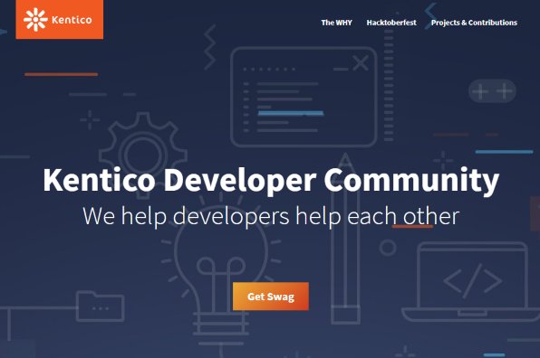 Screenshot of Kentico Developer Community