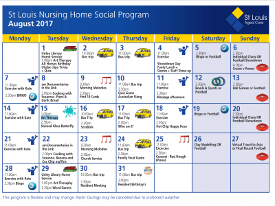 August Nursinghome Social