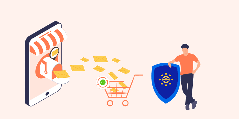 Does Sending Abandoned Cart Recovery Emails to the Customer Comply with GDPR Policy?