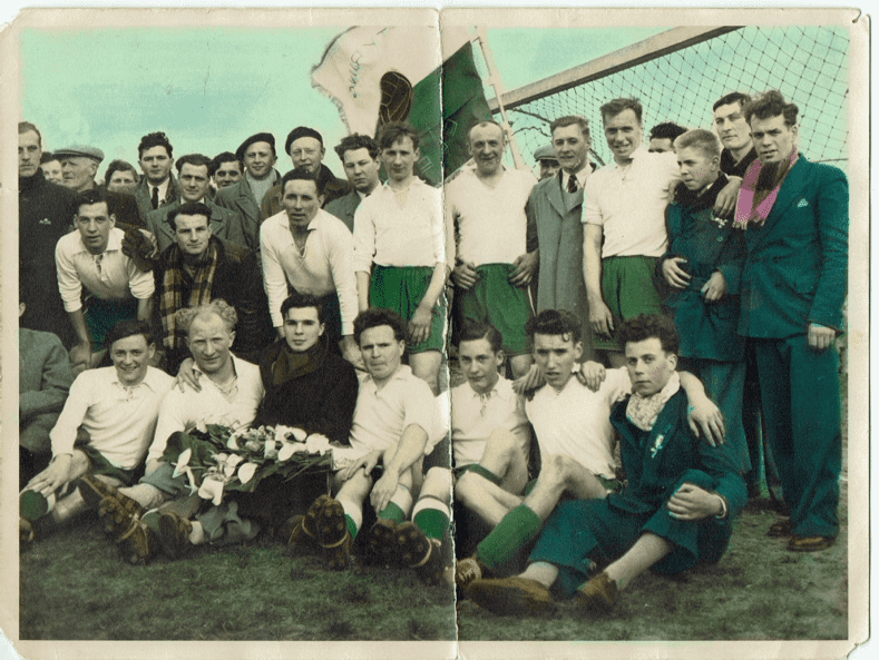 Figuur 1: SK Elewijt kampioen 52-53