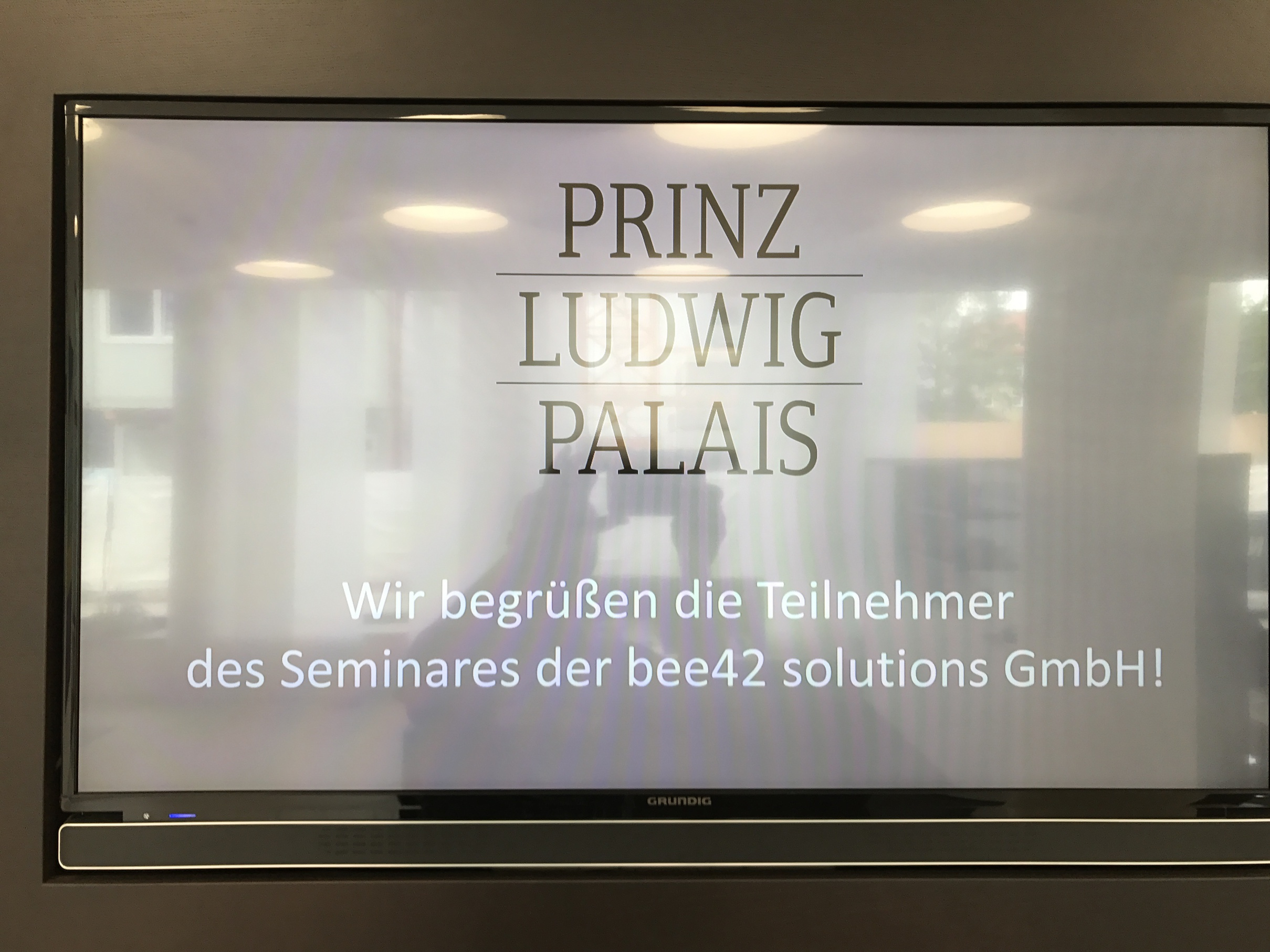 Prinz Ludwig Palais Munich Welcome