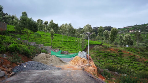 Plot 7 Hill Valley Enclave - Road ends at tank