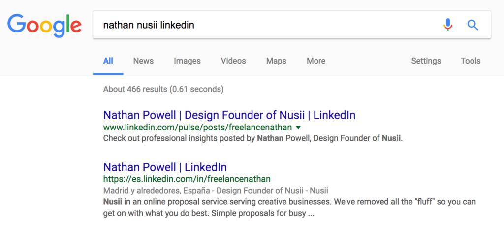 Nusii Prospects Lead Example
