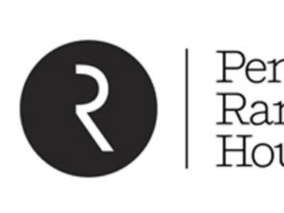 a series of variations on the Riverhead R logo, from their Tumblr site