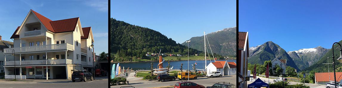 Balestrand apartment apartments view fjord rental overnatting stay camping