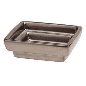 Cube Gunmetal Gallery - DISH ONLY