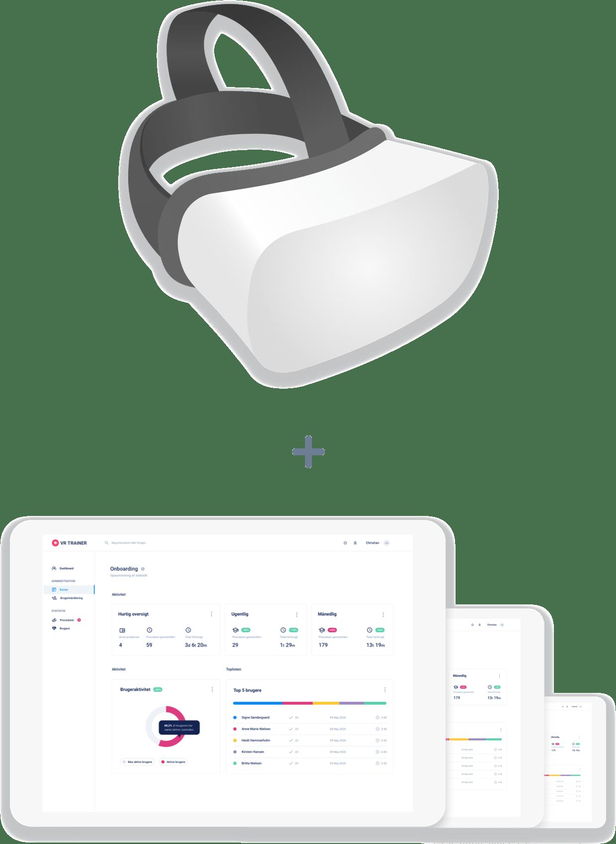 Inkluderet i VR TRAINER