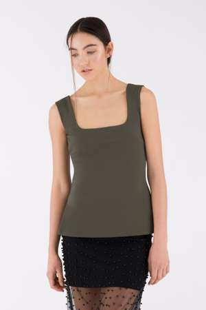 Square Top, Olive