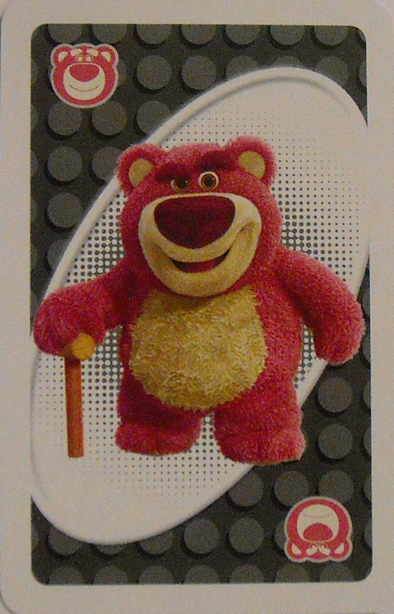 Toy Story 3 Uno (Lotso Card)