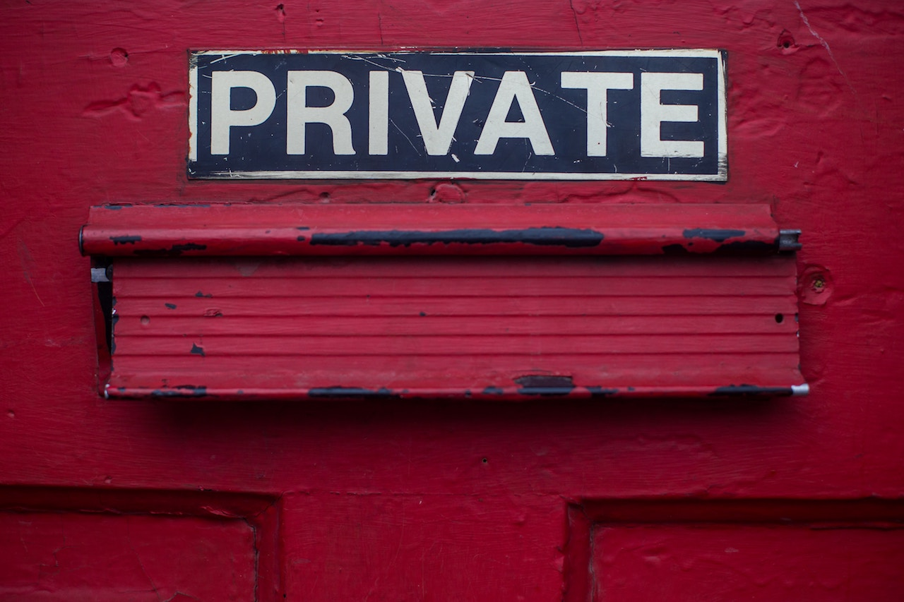 Private, Photo by Dayne Topkin on Unsplash