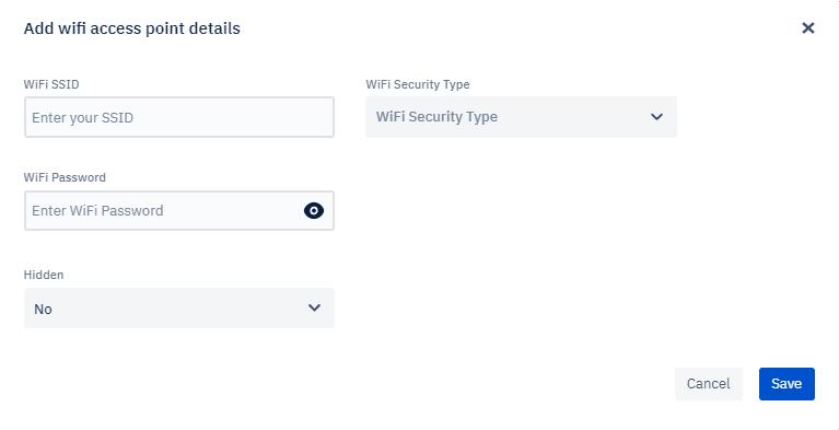WIFI Network Details