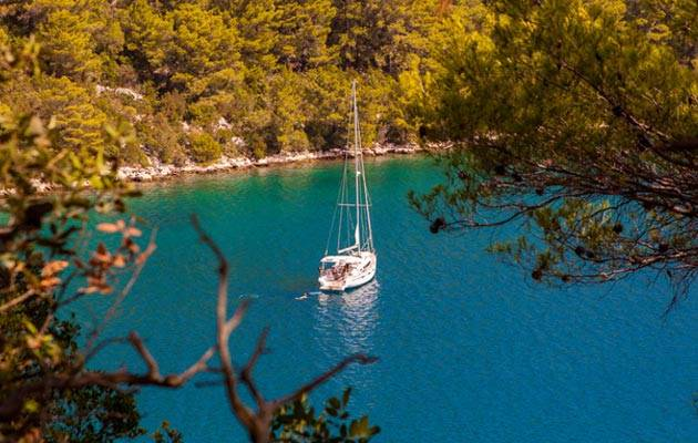 A different type of holiday when you go sailing in Croatia