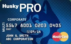 Huskypro mastercard card