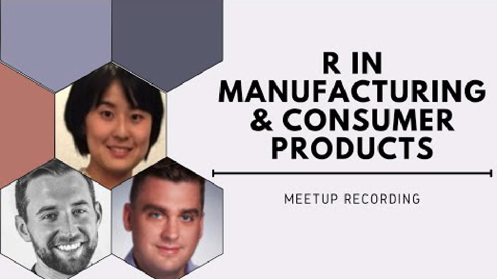 R in Manufacturing & Consumer Products