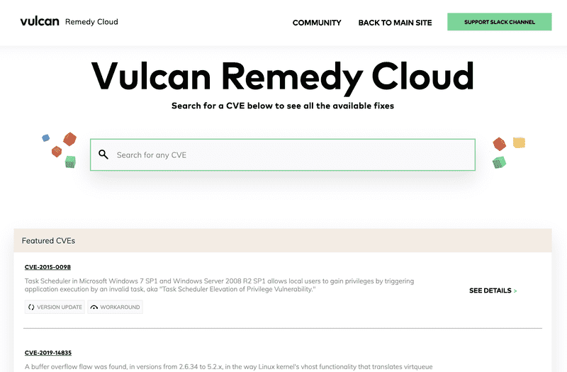 Vulcan Remedy Cloud