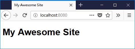 在 Golang 的 html/template 套件中使用變數