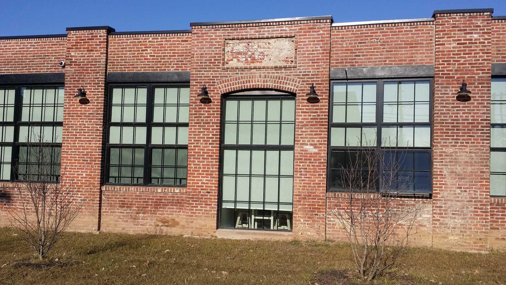 brick face of Jacksonville Green building