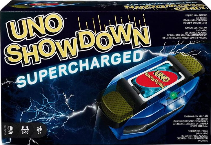 Uno Showdown Supercharged