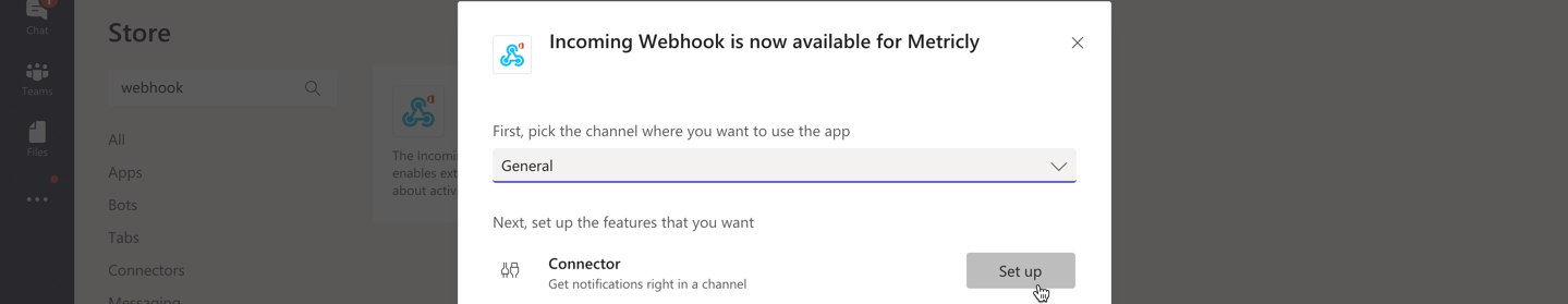 Set up Webhook
