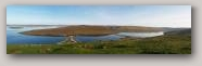 Ayres of Swinister, Panorama.  Copyright Davy Cooper  » Click to zoom ->