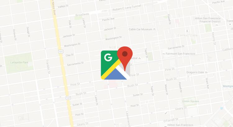 Google Maps Banner