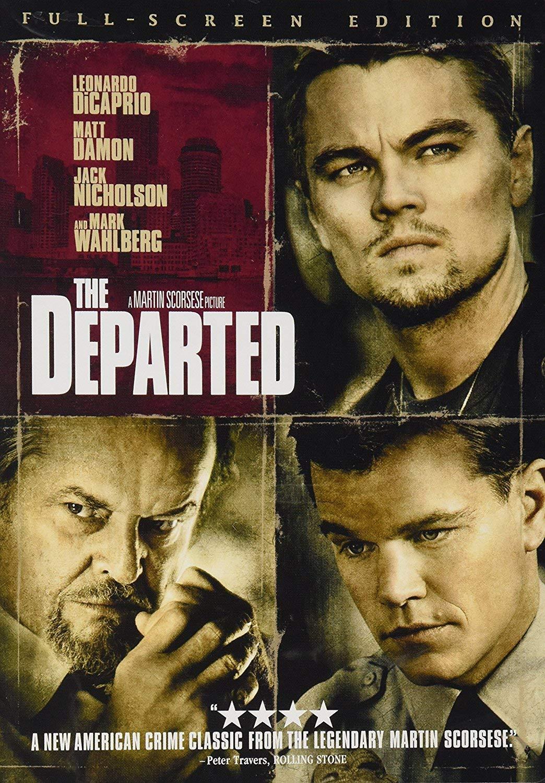 Leonardo DiCaprio, Matt Damon, Jack Nicholson and Mark Wahlberg star in Martin Scorsese's new crime drama.