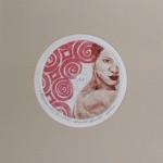 """Marika Naadel, Estonia. """"Kurises"""" 2004. CD-print, 30x30cm"""