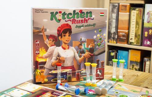 Kitchen Rush – gyors recept 4 főre