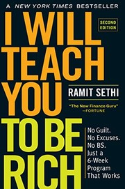 I Will Teach You to Be Rich: No Guilt. No Excuses. No BS. Just a 6-Week Program That Works