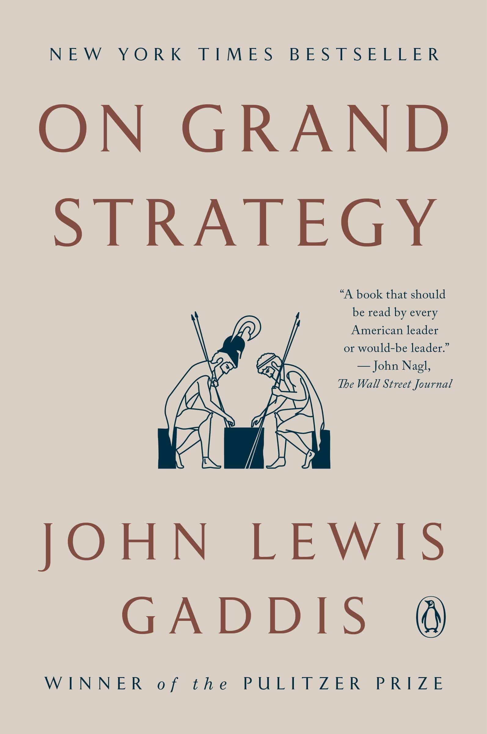 The cover of On Grand Strategy