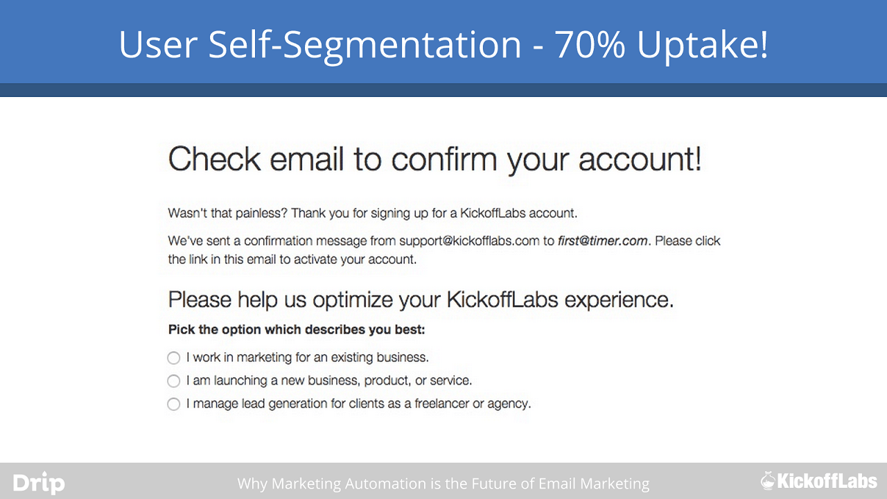 self segmentation