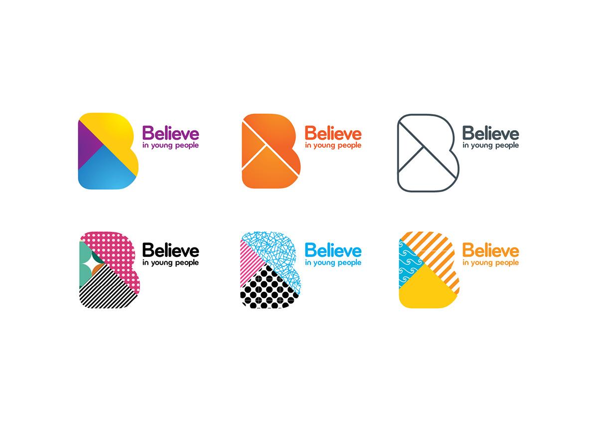 Believe brand visual