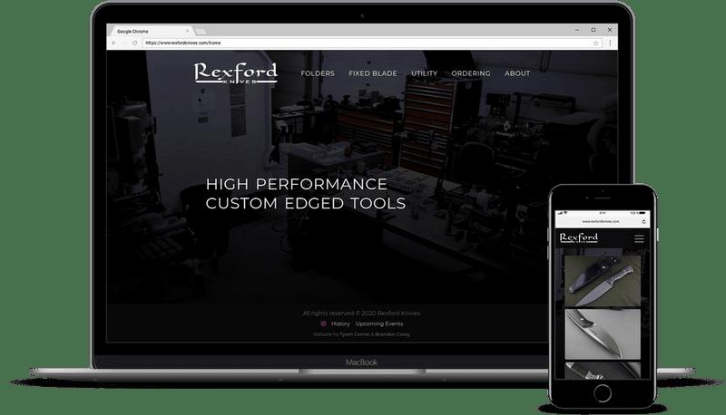Rexford Knives Website