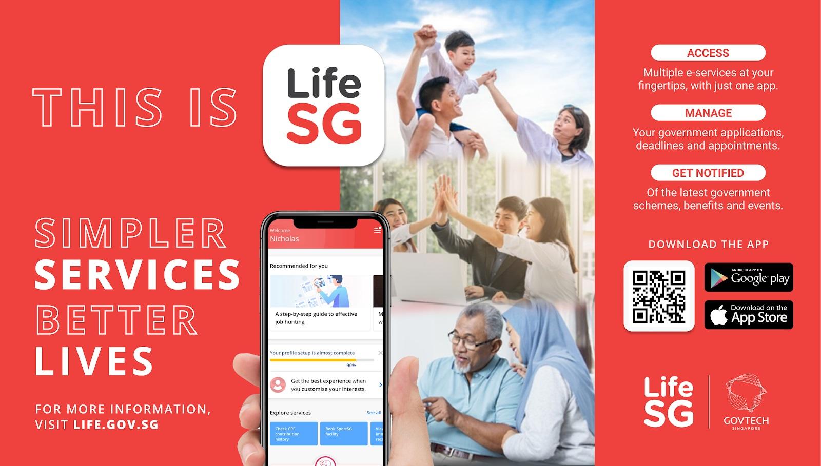 LifeSG banner
