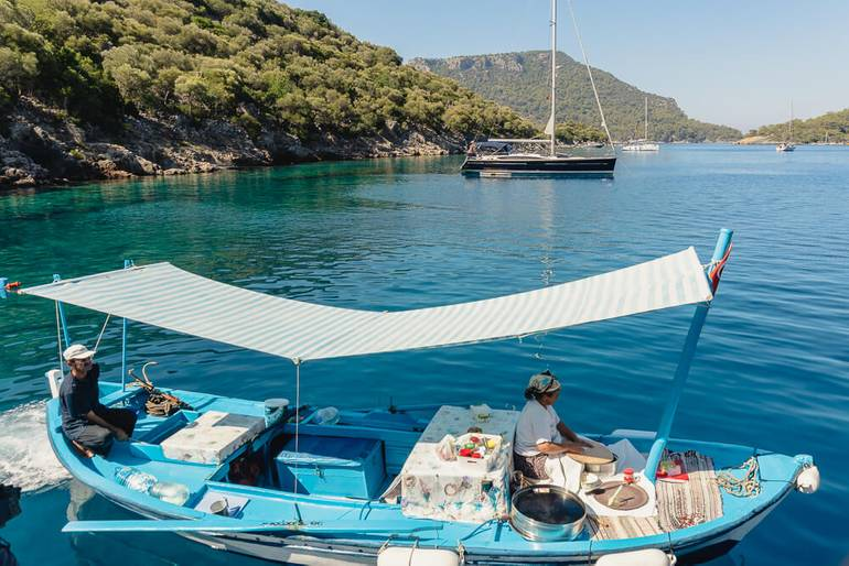 Wait, They Have Pancake Boats in Turkey?