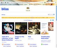 Bliss Browser Shot
