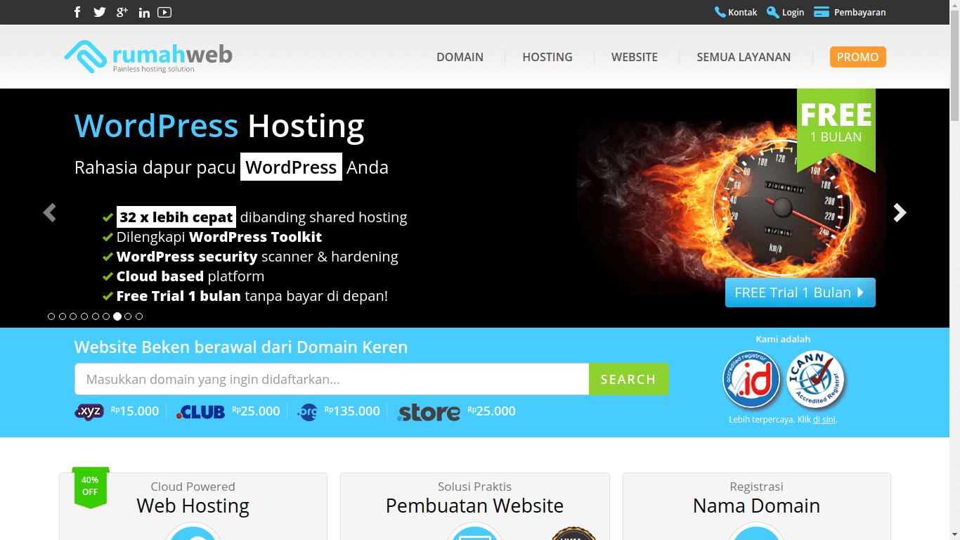 Pengalaman membeli domain di Rumahweb